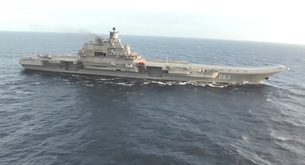 Admiral Kuznetsov aircraft carrier deployed in Syria for the first time ever