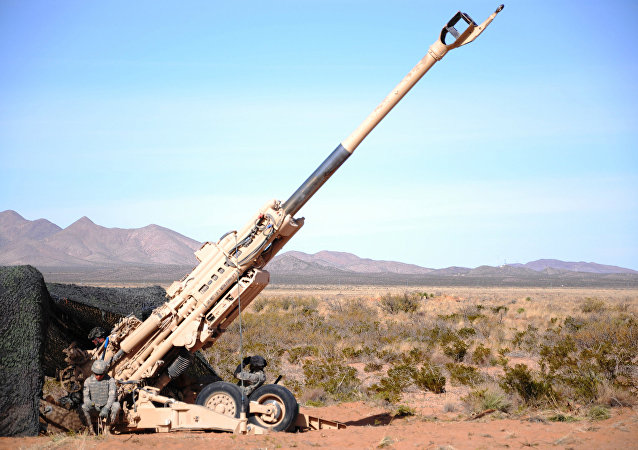 The fire mission used the M982 Excalibur, a long range artillery shell that uses global positioning satellites to more precisely hit the target.