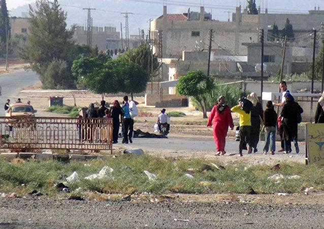 Civilians in Syria (File)