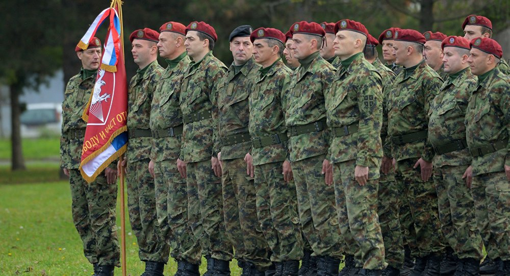 Serbian Army Union Plans Protest Over Low Wages