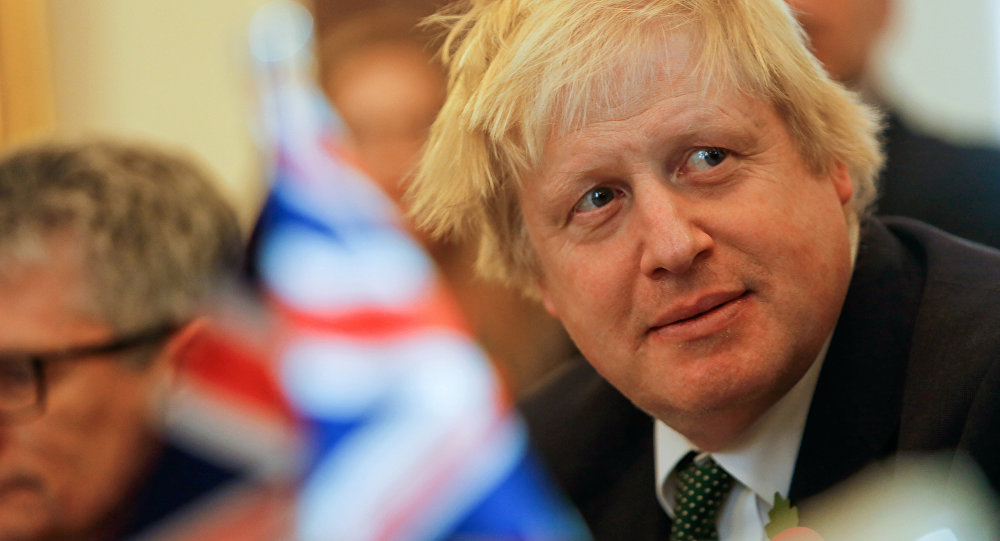 British Foreign Secretary Boris Johnson attends talks with Malta's Foreign Minister George Vella on Brexit in the context of Malta's upcoming presidency of the EU council, in Valletta, Malta, November 9, 2016.