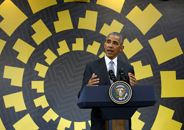 U.S. President Barack Obama holds a press conference at the conclusion of the APEC Summit in Lima, Peru November 20, 2016.