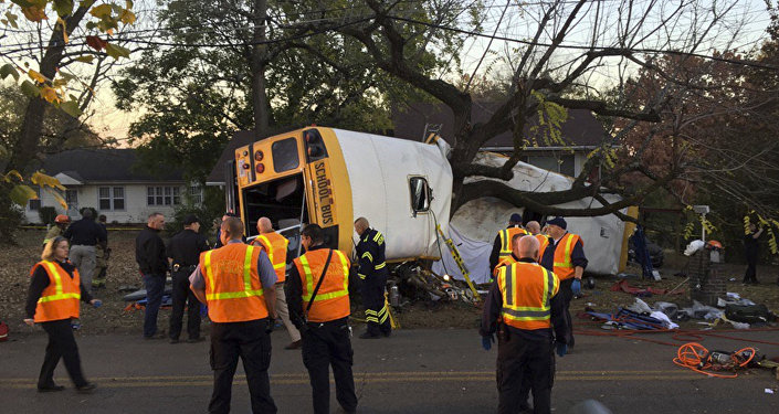 Chattanooga bus crash driver allegedly told children: 'Are you ready to die?'