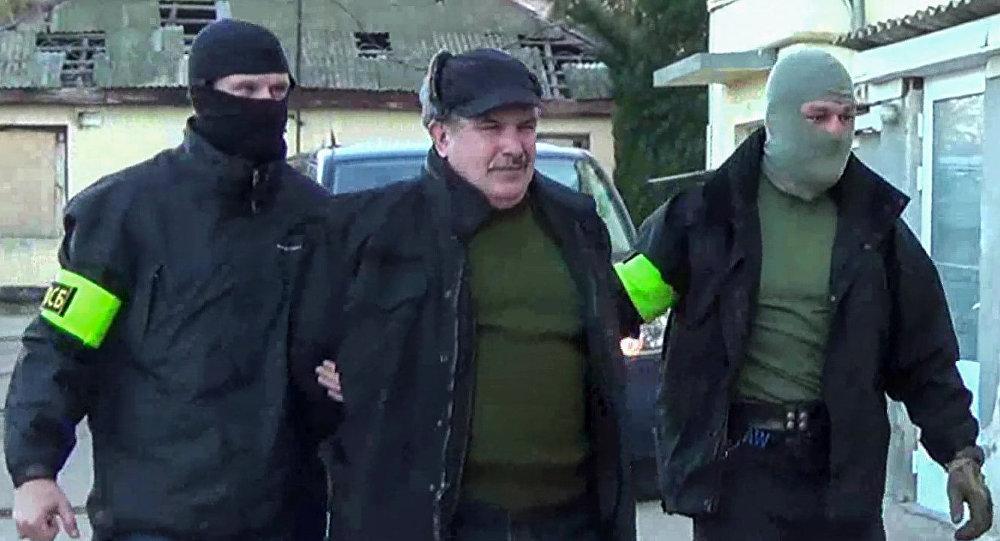 Russia's Federal Security Service detains former Black Sea Fleet staff member Leonid Parkhomenko