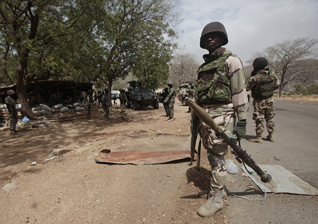 Nigerian soldiers  (File)