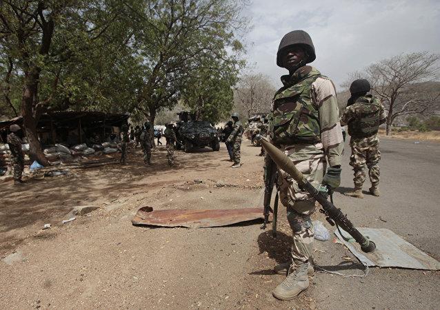 Nigerian soldiers  (File)