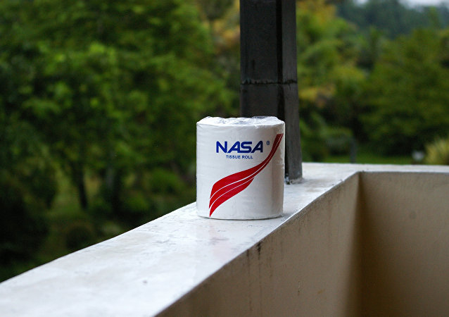 NASA toilet roll