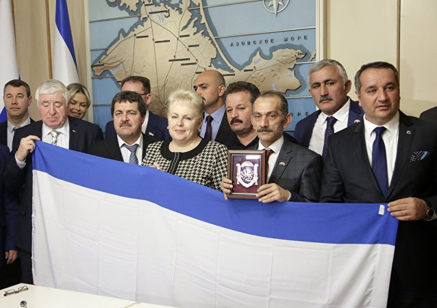 Turkish delegation visits Crimea