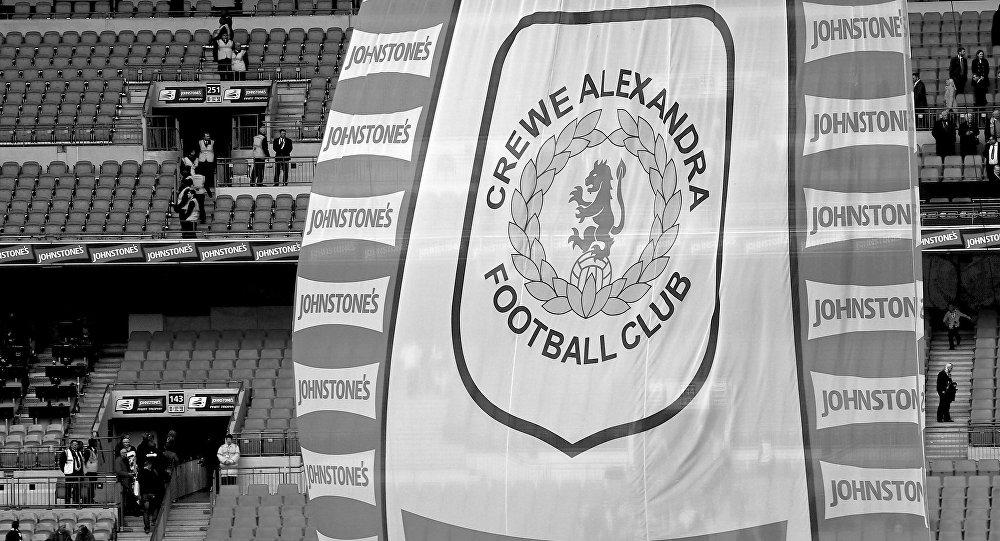 Crewe Alexandra football club banner
