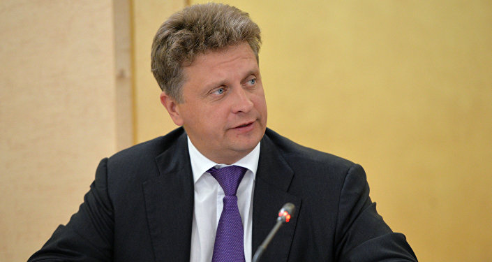 Minister of Transport Maksim Sokolov