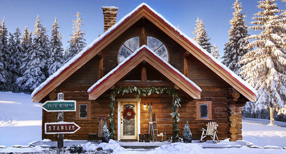 Santa's North Pole home