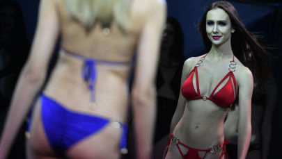 Russia's Next Top Models: Glamour Queens Take to the Runway
