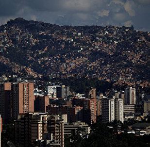 General view of Caracas, Venezuela, December 6, 2016