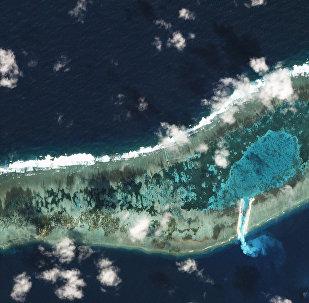 Ladd Reef, Spratly Islands, South China Sea
