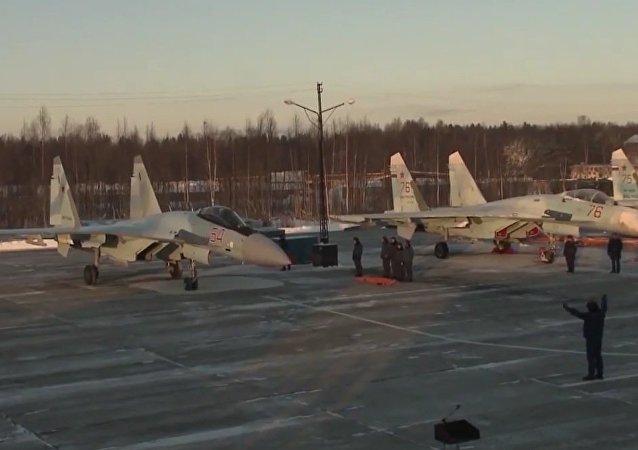 New Su-35 Flanker E+ Fighter Jets Arrive In Karelia