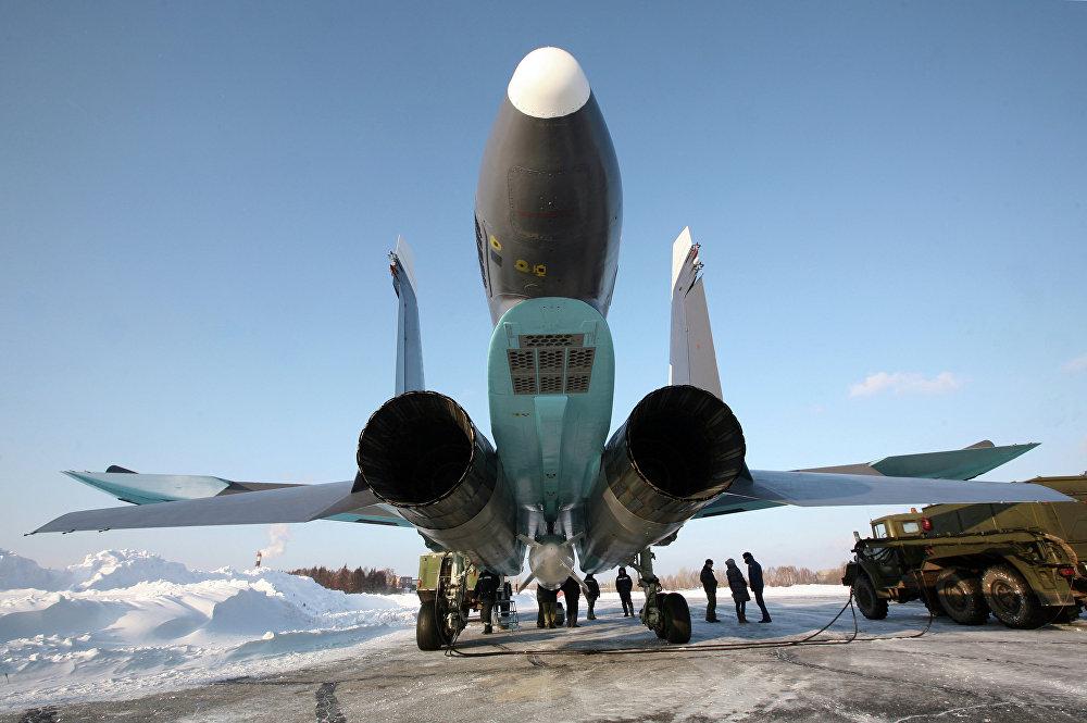 Подготовка самолетов Су-34 для передачи министерству обороны РФ