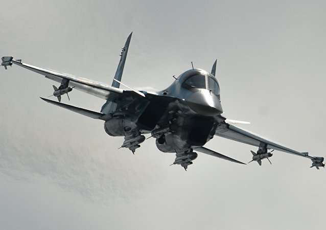 The Su-34 strike fighter