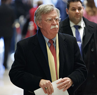 John Bolton, the former U.S. ambassador to the United Nations, arrives at Trump Tower for a meeting with President-elect Donald Trump, Friday, Dec. 2, 2016, in New York