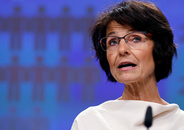 European Employment, Social Affairs, Skills and Labour Mobility Commissioner Marianne Thyssen addresses a news conference at the EU Commission headquarters in Brussels, Belgium, November 16, 2016.