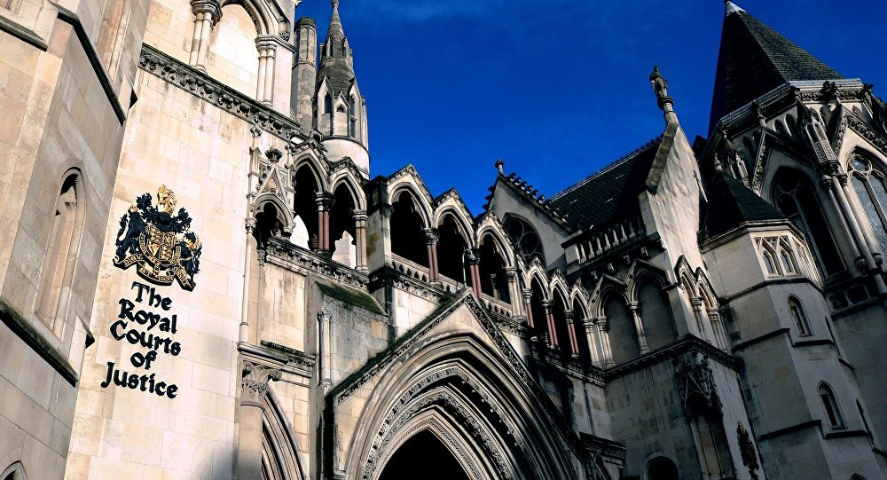 The Royal Court of Justice, London