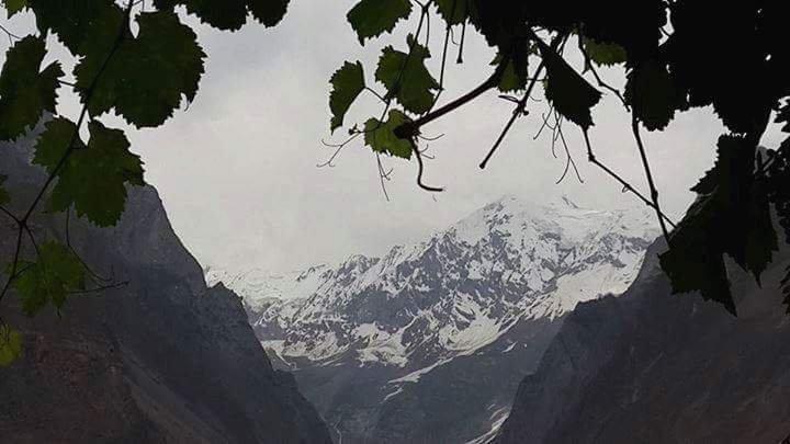 Snow peaks of Hunza valley
