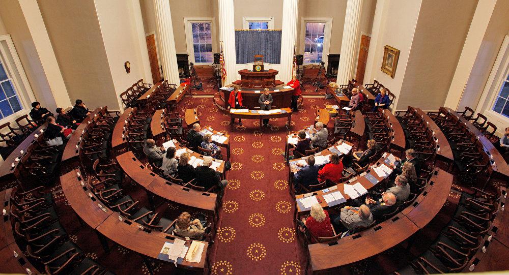 North Carolina Electors rehearse for tomorrow's electoral college vote in the North Carolina State Capitol building in Raleigh, North Carolina, U.S., December 18, 2016