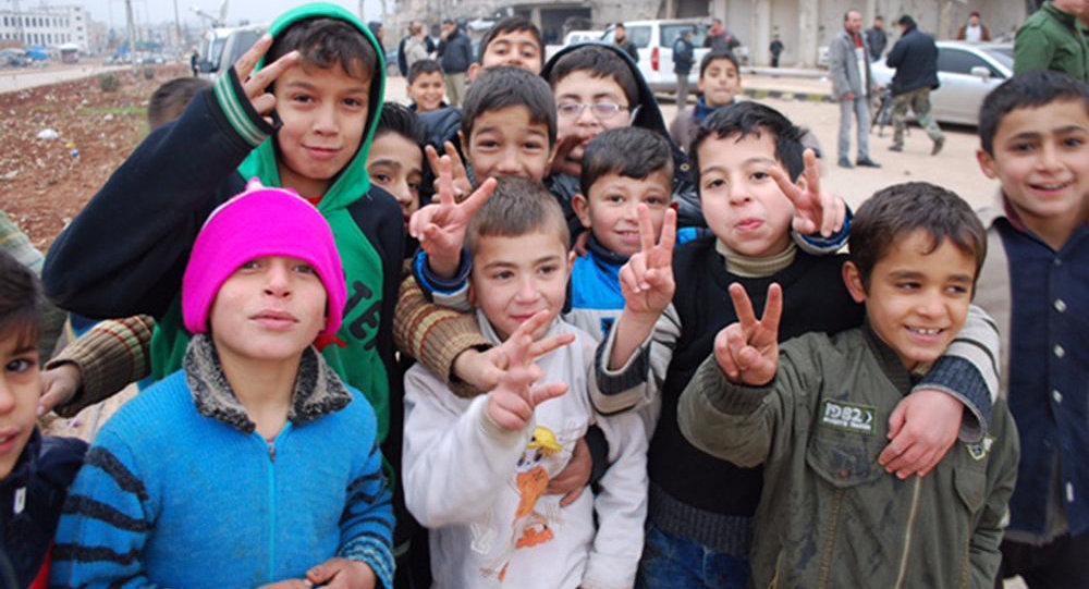 Children in Aleppo