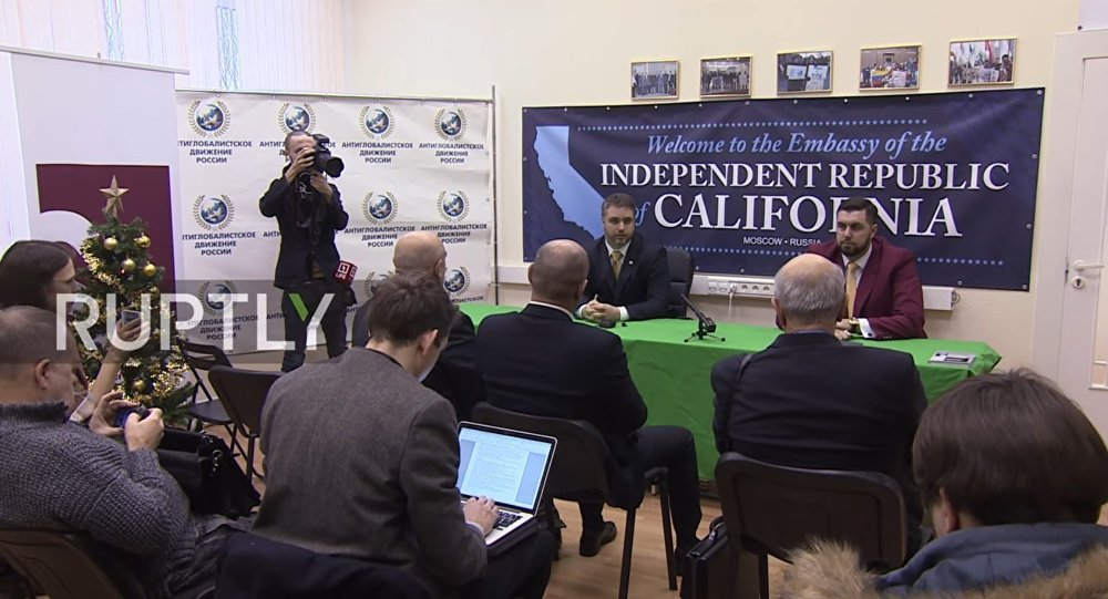 Opening of California Embassy in Moscow