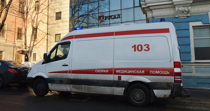 An ambulance in Moscow. (File)