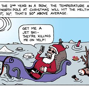Santa's Summer Comes Early