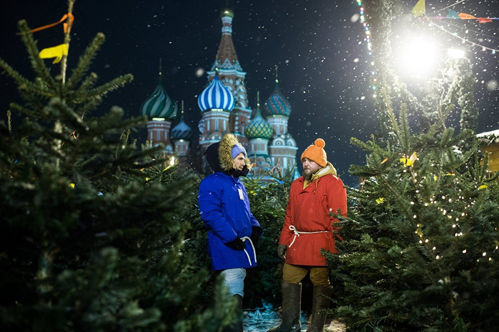 Most Magical Night of the Year: Moscow Getting Ready for New Year Celebrations