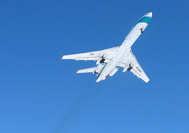 Tu-154 plane. (File)
