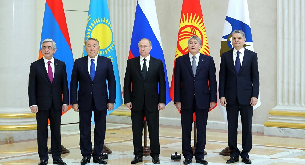 Moscow Refutes Claims About Eurasian Economic Union as...
