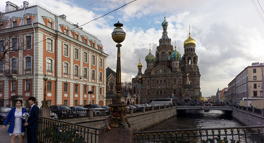 The Cathedral of the Resurrection of Jesus (Savior on Spilt Blood) and Griboyedov Canal in St. Petersburg. File photo