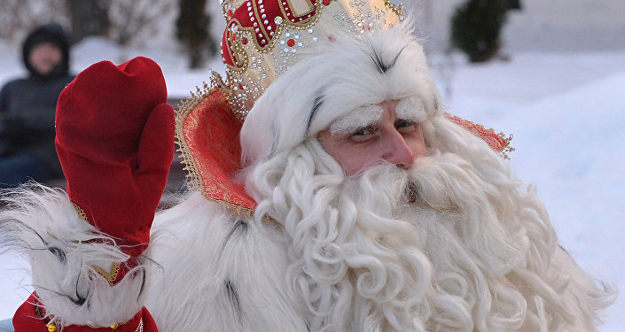 Father Frost from Veliky Ustyug