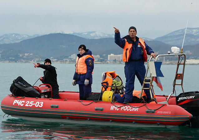 Search operation at Tu-154 crash site