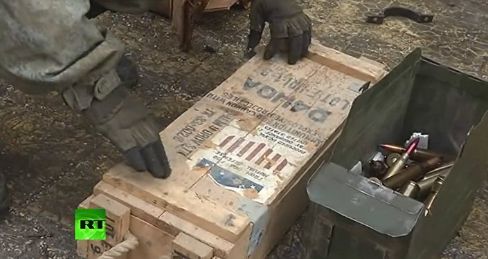 Weapons Manufactured In Europe and US Are Found In Aleppo