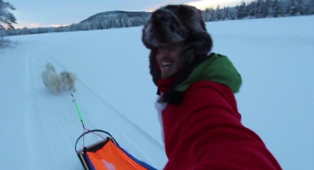 Captain Remi in Lapland