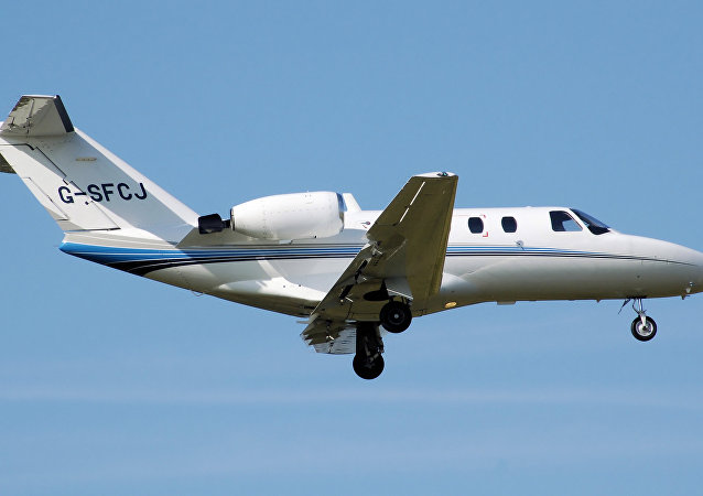 Cessna 525 CitationJet. (File)