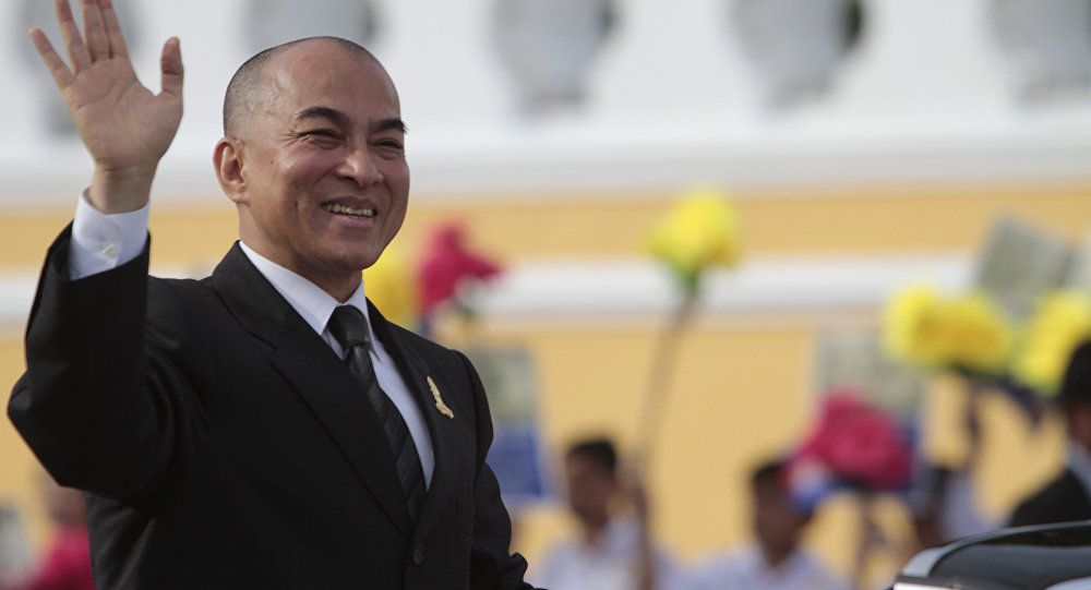 Image result for King Norodom Sihamoni, Cambodia