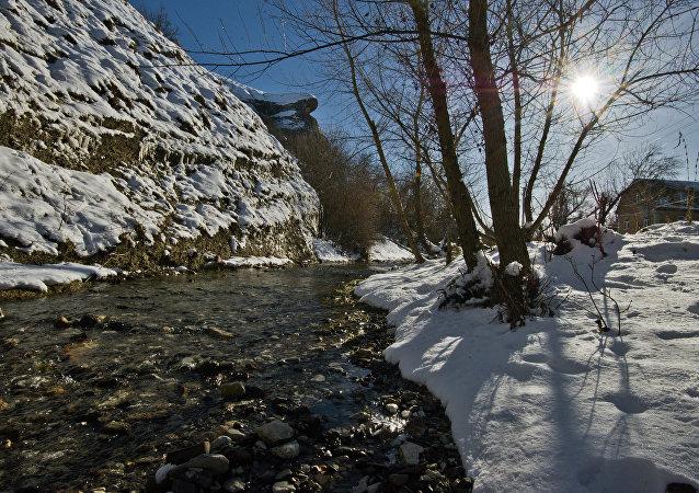 Winter in Crimea