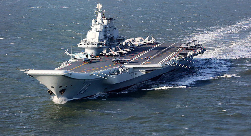 Liaoning, currently only China's aircraft carrier (File)