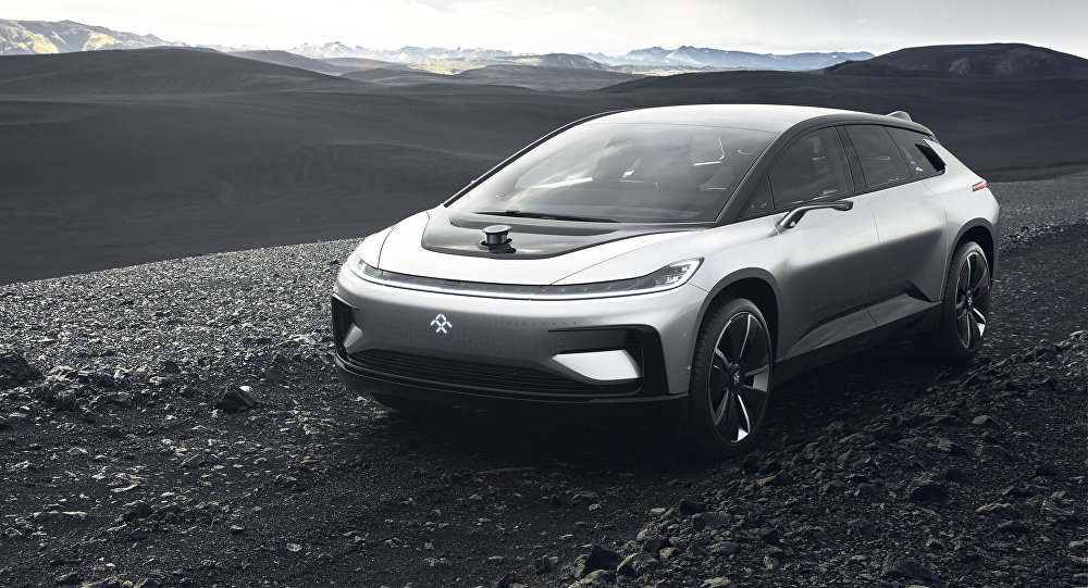 Start Up Faraday Future Unveils New Faster Than Gravity E Car