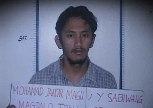 Mohammad Jaafar Sabiwang Maguid, a pro-Daesh Islamist militant accused of dozens of violent crimes.
