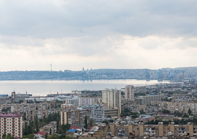 Baku Bay and the city of Baku. (File)