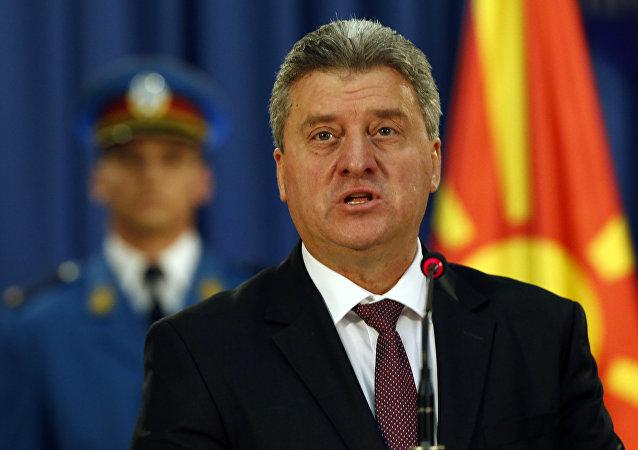 Macedonia's President Gjorge Ivanov