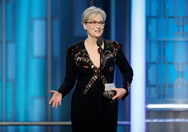 Actress Meryl Streep accepts the Cecil B. DeMille Award during the 74th Annual Golden Globe Awards show in Beverly Hills, California, U.S., January 8, 2017.