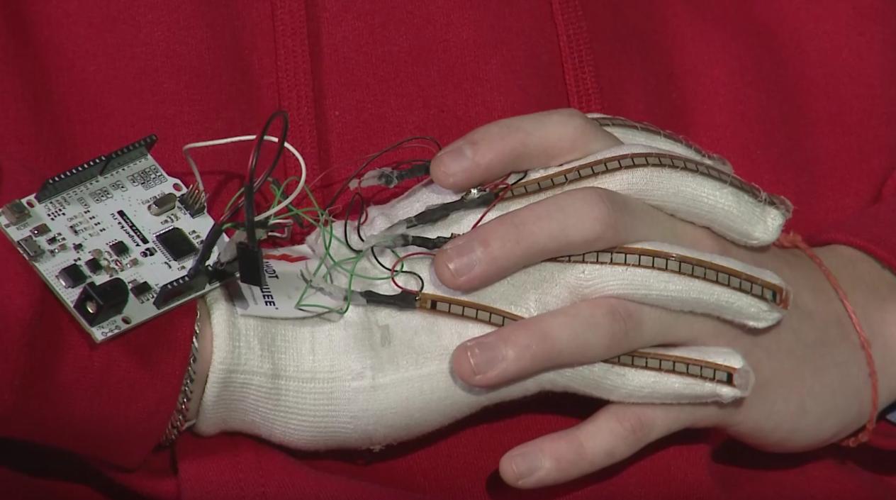 The Smart Glove