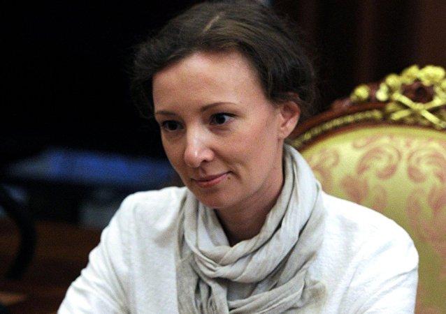 Presidential Commissioner for Children's Rights Anna Kuznetsova