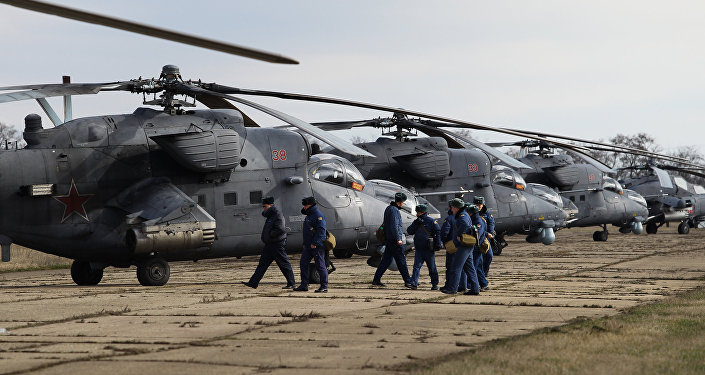 Mi-35M helicopters
